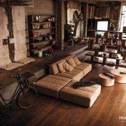 Home and Deco Furniture - Rustic Living Room Furniture