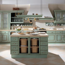 Salt and Pepper - Belveder Traditional Country Line Kitchen