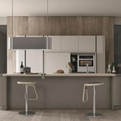 Argyrou Kitchens Clover Lack Smoke Matt