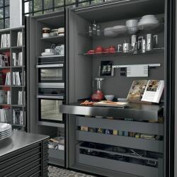 Argyrou Kitchens Design Collection Hi Line Pocket Doors